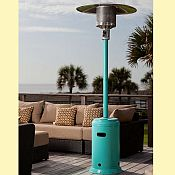 Aqua Blue Patio Heater