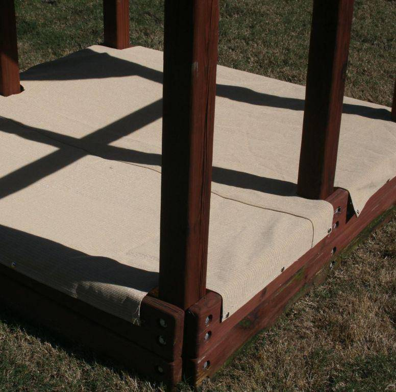 Commercial 95 Mesh Sandbox Covers Custom Made
