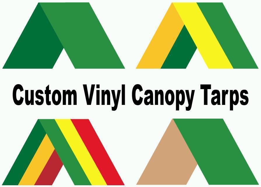 Custom Vinyl Tarp Canopy Tops For Swing Set Playset Or Fort