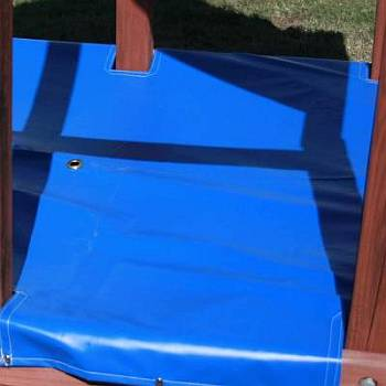 Poured Rubber Sandbox Covers Custom Made