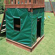 Affordable Custom Vinyl Playhouse Promotes Outdoor Child S