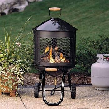 Lil Bon Flame Outdoor Fireplace Arp Lil Bon Flame Fp