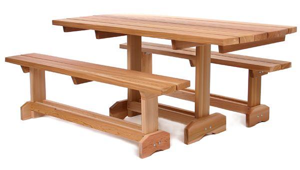 Rectangular picnic table plans Here ~ Backyard arbor
