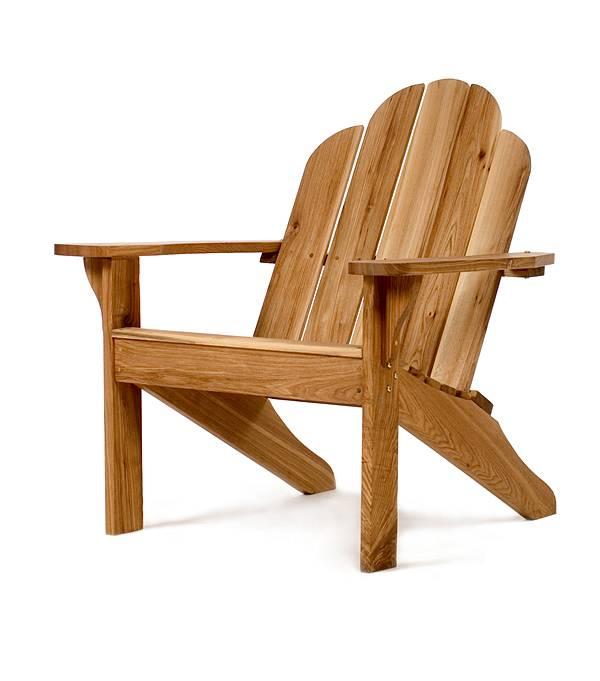 Oak Adirondack Chair A21