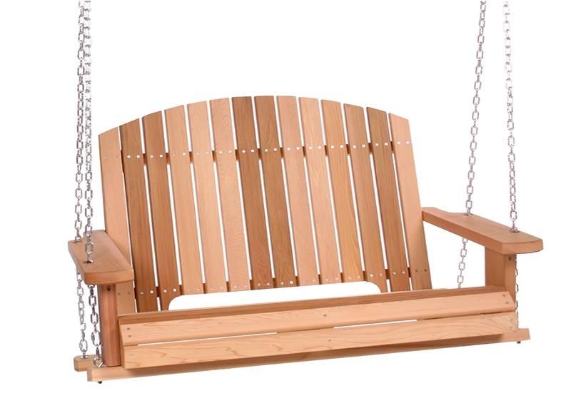 Cedar Garden Furniture Cedar garden porch swing ps50 cedar garden porch swing workwithnaturefo