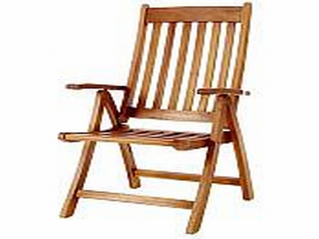 Teak arm chair 5 position folding arm chair tweet