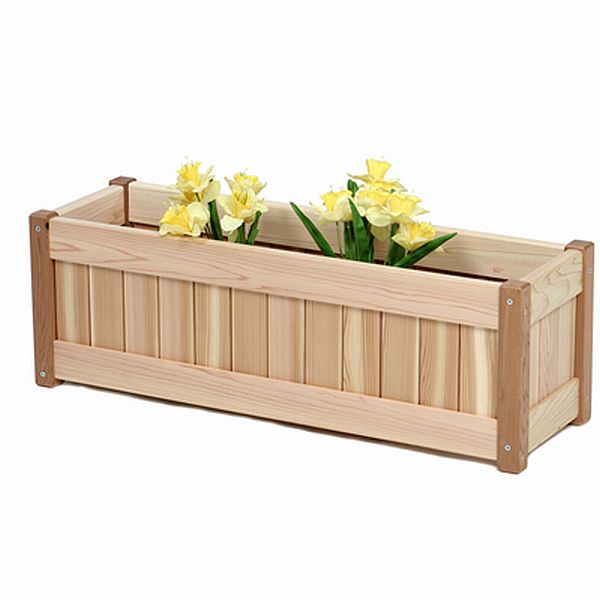 Cedar Planter Box 30 Inches Rectangle Pl30