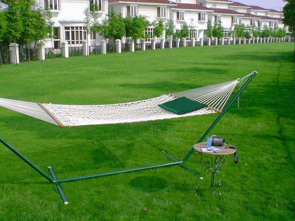 Hammock swings rope swings fabric swings backyard swings for Rope hammock plans