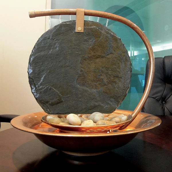 Water Wonders Small Moonshadow Tabletop Fountain