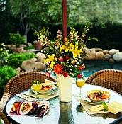 Brella Vases - Patio Table Centerpiece
