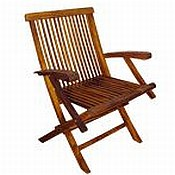 Folding Arm Chair (Pair)