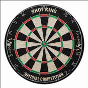 The Shot King Sisal Dartboard