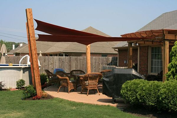 Gallery Of Images Of Shade Sail Projects For Design Layout Ideas