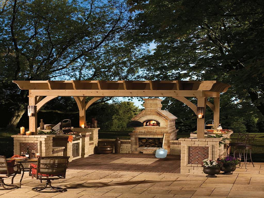 brick ovens add luxury and gourmet to your backyard outdoor