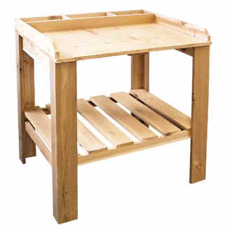 Cedar Garden Potting Table - 3030