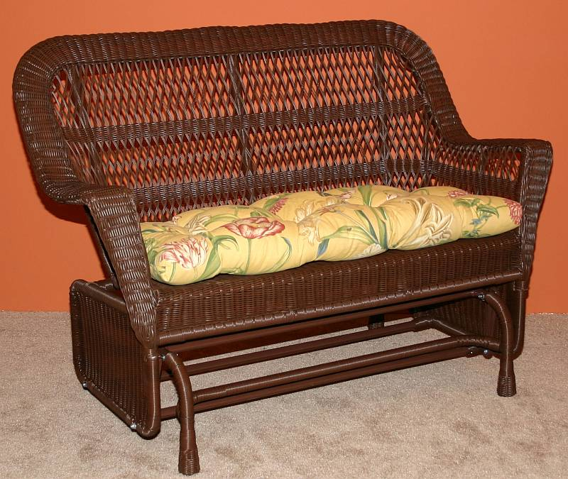 Antigua Resin Wicker Double Glider / Loveseat - CDI375DG225