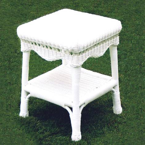 Sahara All Weather Resin Wicker End Table CDI001ET