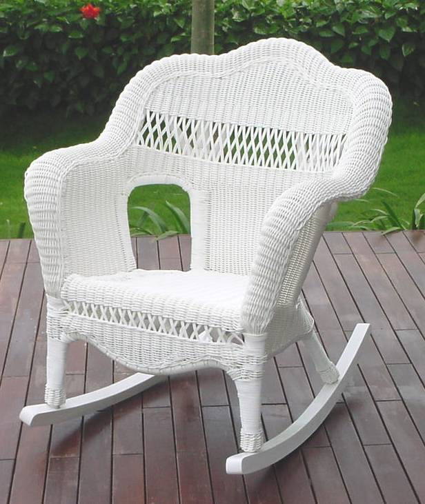 Sahara All Weather Resin Wicker Rocker Cdi 001 Rc