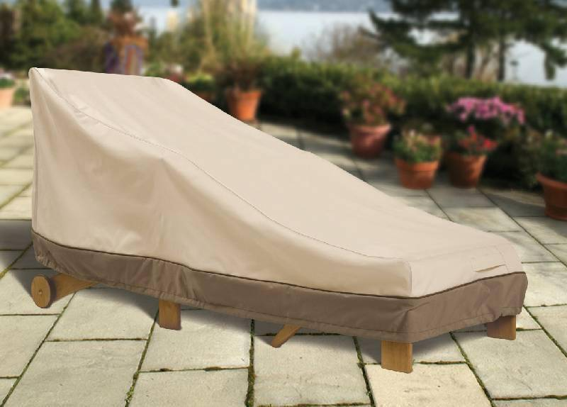 Outdoor furniture covers chaise lounge for Chaise covers outdoor furniture