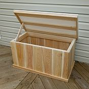 Deck Box with Waterproof Lid