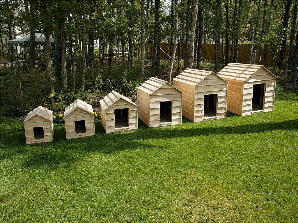 Cedar Dog House Kit Giant
