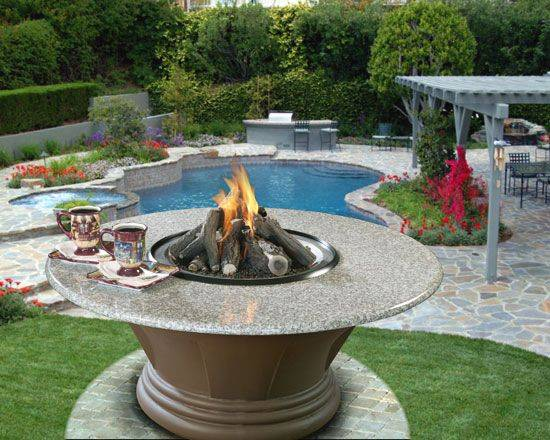 San Simeon Outdoor Firepit (Click To Enlarge)