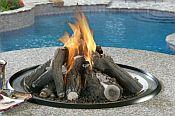 Ceramic Fire Logs