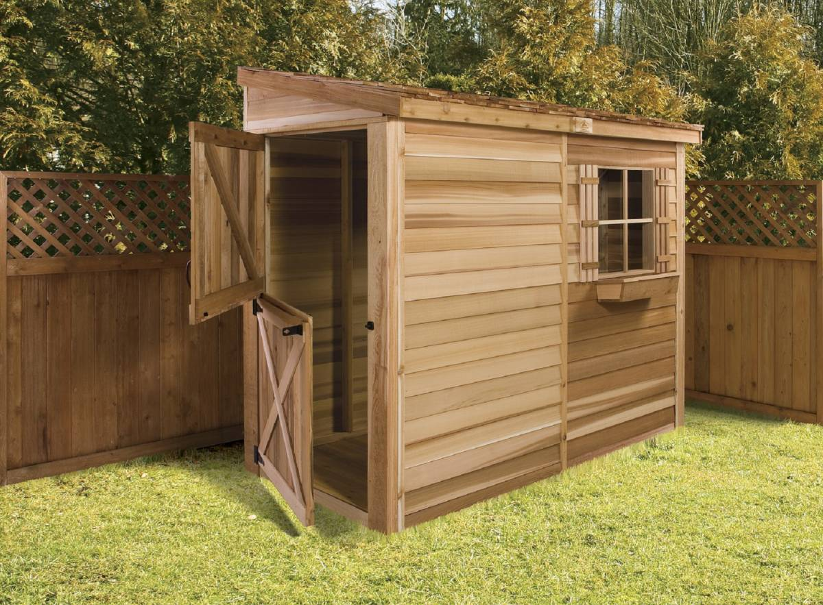 Bayside storage shed b84 for Small narrow shed