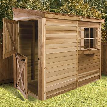 Storage Sheds & Wood Storage Shed Kits For your Outdoor