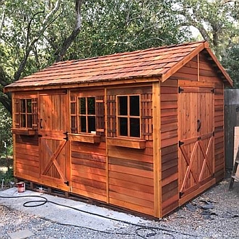 Boathouse Storage Shed 10x12