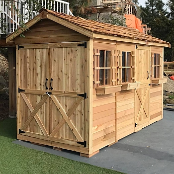 Boathouse Storage Shed 6x12