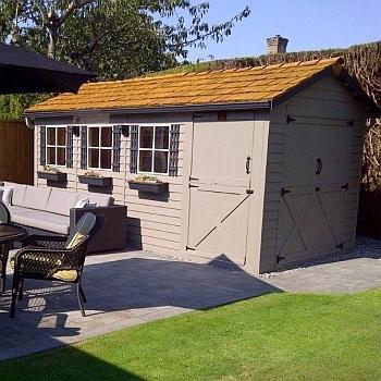 Boathouse Storage Shed 8x12