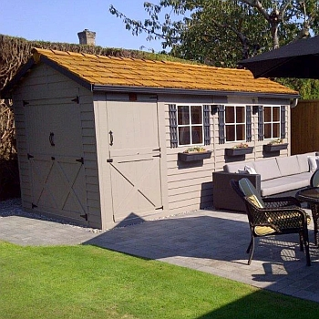 Boathouse Storage Shed 8x16