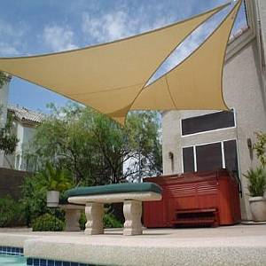 Shade sails block the sun new 2018 spec comparison chart for Shade sail cost