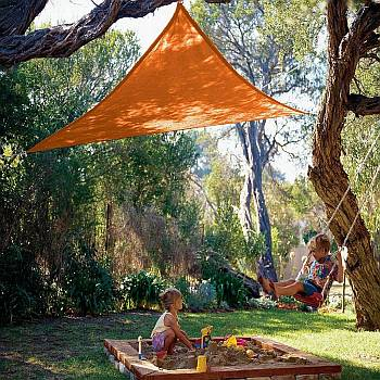 Party Shade Sails A Colorful Temporary Sun Shade Sail By