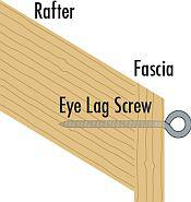 Rafter Sail attachment