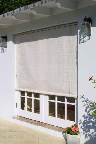 Coolaroo Roll Up Window Sun Shades Smoke 4ftx6ft 315986