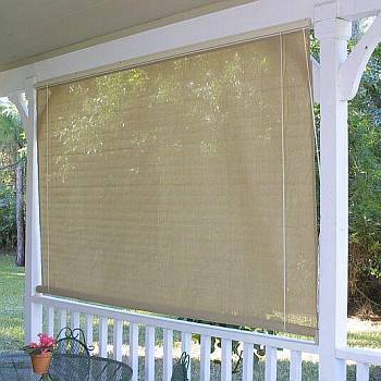 Coolaroo Roll Up Window Sun Shades - Southern Sunset 6ftx6ft - 315887