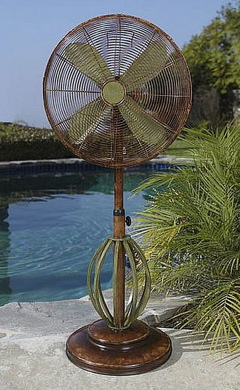 Outdoor Ceiling Amp Standing Fans Misting Fan