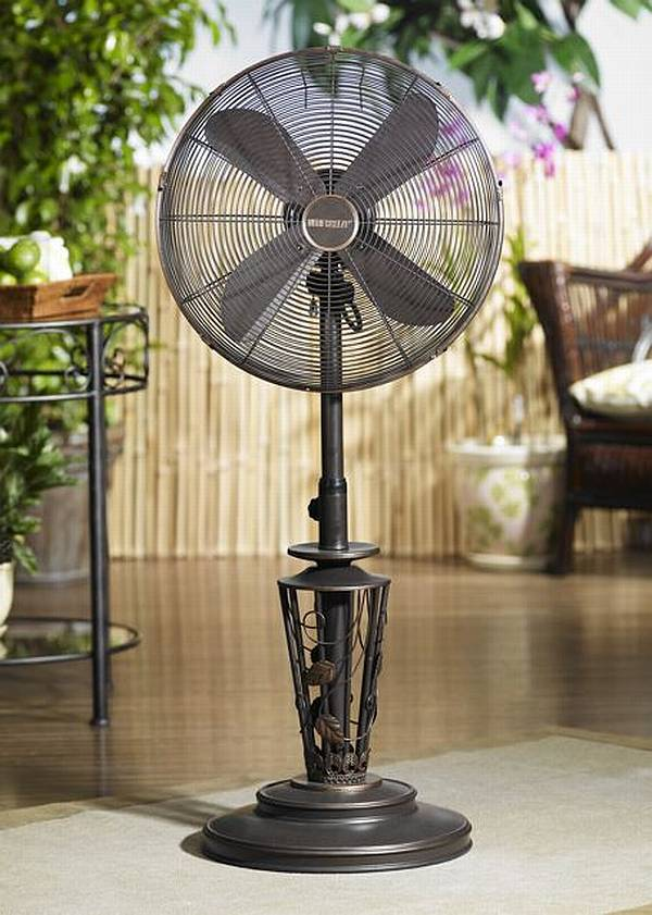 Patio Umbrellas Outdoor Fans Deco Breeze Vines Outdoor Adjustable Fan