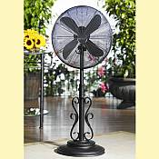 DecoBreeze Outdoor Fan   Ebony