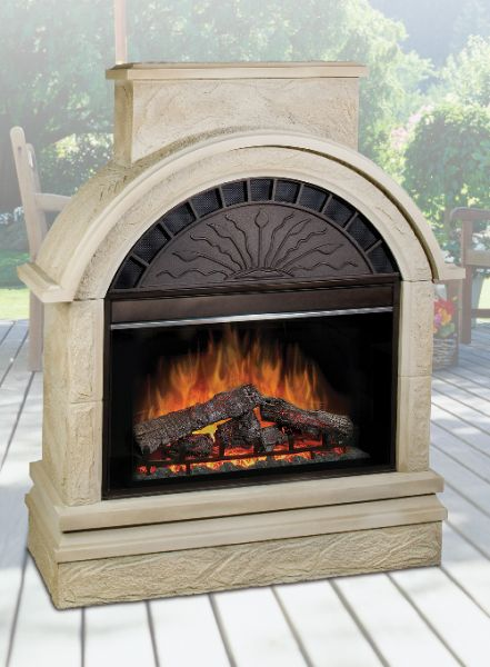 Scottsdale Outdoor Electric Fireplace EMP OSTN 36