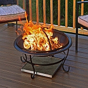 Fire Pit Pads Protect Your Deck With Fireproof Deck