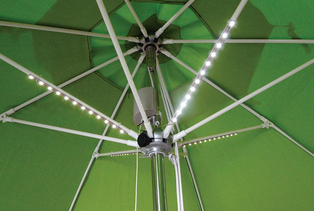 Patio umbrella lights led outdoor goods light bars largeg workwithnaturefo