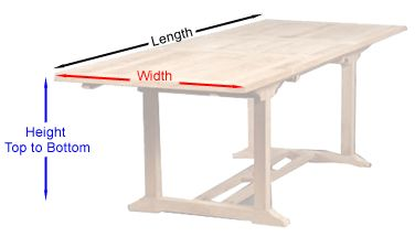 How to Measure Patio Table for a Custom Cover