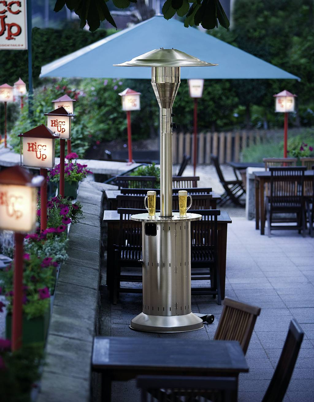 Cosy Commercial Patio Heater Click To Enlarge