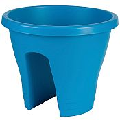 Flower Bridge Planter - Metallic Blue