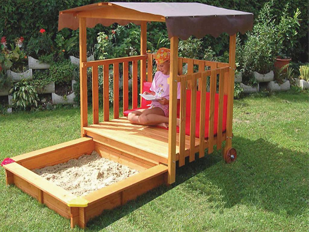 playhouse sandbox plans
