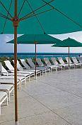 Bridgewater Commercial Umbrella - 6 Ft Square with Fiberglass Ribs