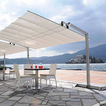 Freestanding Retractable Awnings
